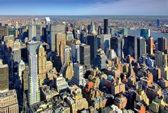 New York: View of Manhattan from the Empire State Building I