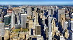 New York: View of Manhattan from the Empire State Building II