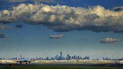 New York vom Flughafen aus
