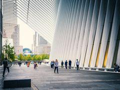 New Yorker Ansichten - Auf der Straße am Oculus