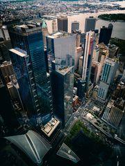 New Yorker Ansichten - Blick vom One World Trade Center