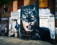 New Yorker Ansichten - Graffity in  Williamsburg