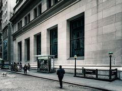 New Yorker Ansichten - in der Wall Street