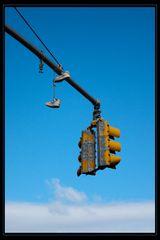 New Yorker Schuhaufbewahrung