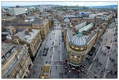 Newcastle u. Tyne #16 View from Grey's Monument