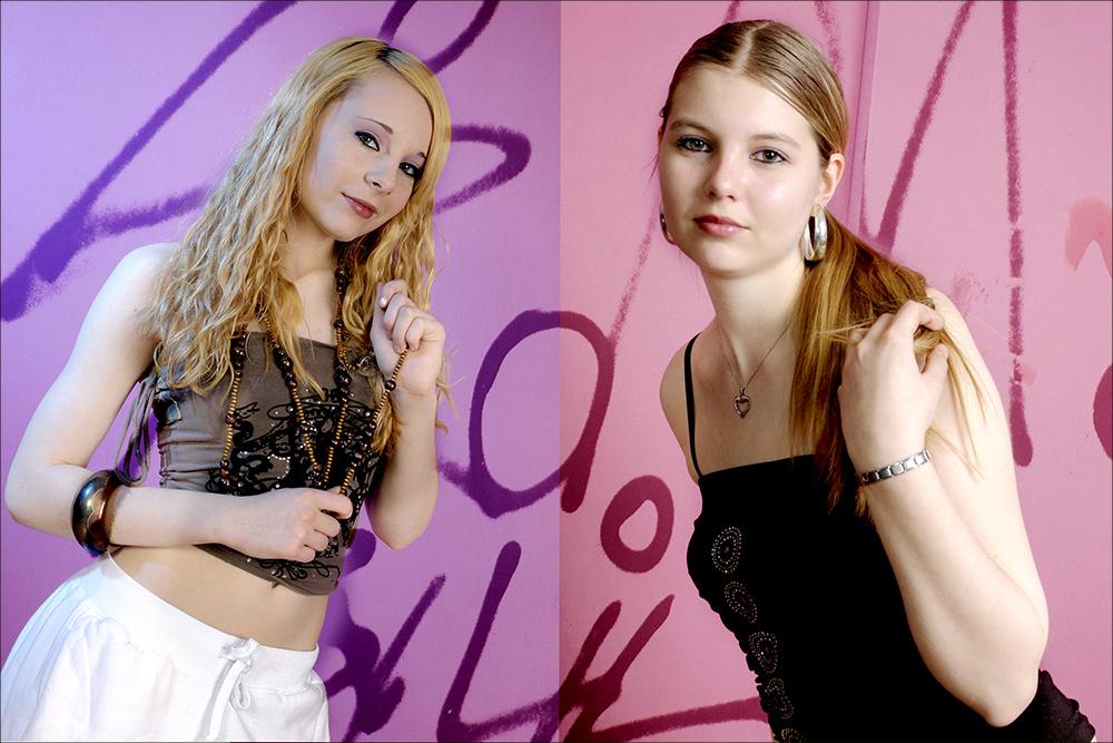 Newcomer Models ( Xenia & Lisa )