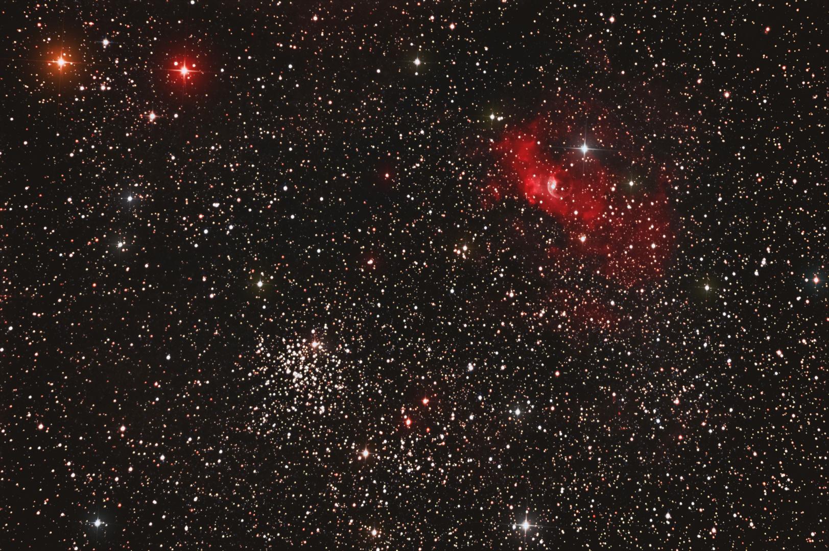 NGC7635 und M52 (neu)