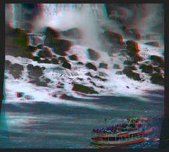 Niagara Fälle 3D
