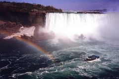 Niagara Falls am späten Nachmittag