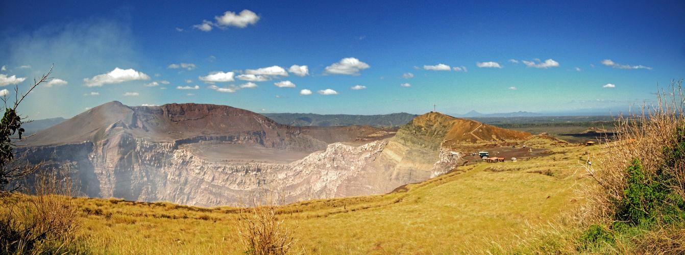 Nicaragua, Vulkankrater