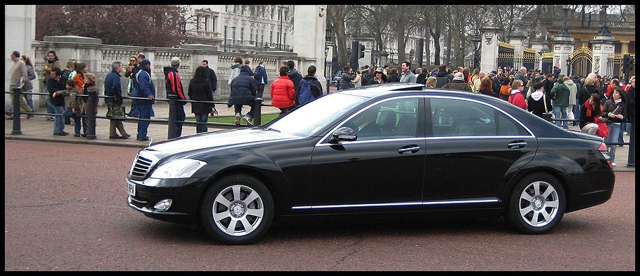 Nice cars in London