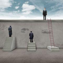 Nicht alle Treppen fuehren zum Ziel