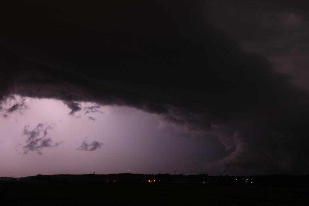 Nicht der Blitz....