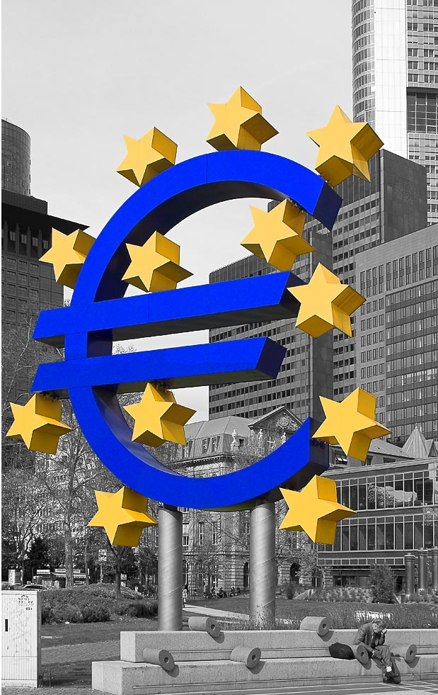 Nicht für jeden ist die Euro-Welt bunt !