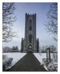 nicht ganz so bekannte Kirche in Reykjavik