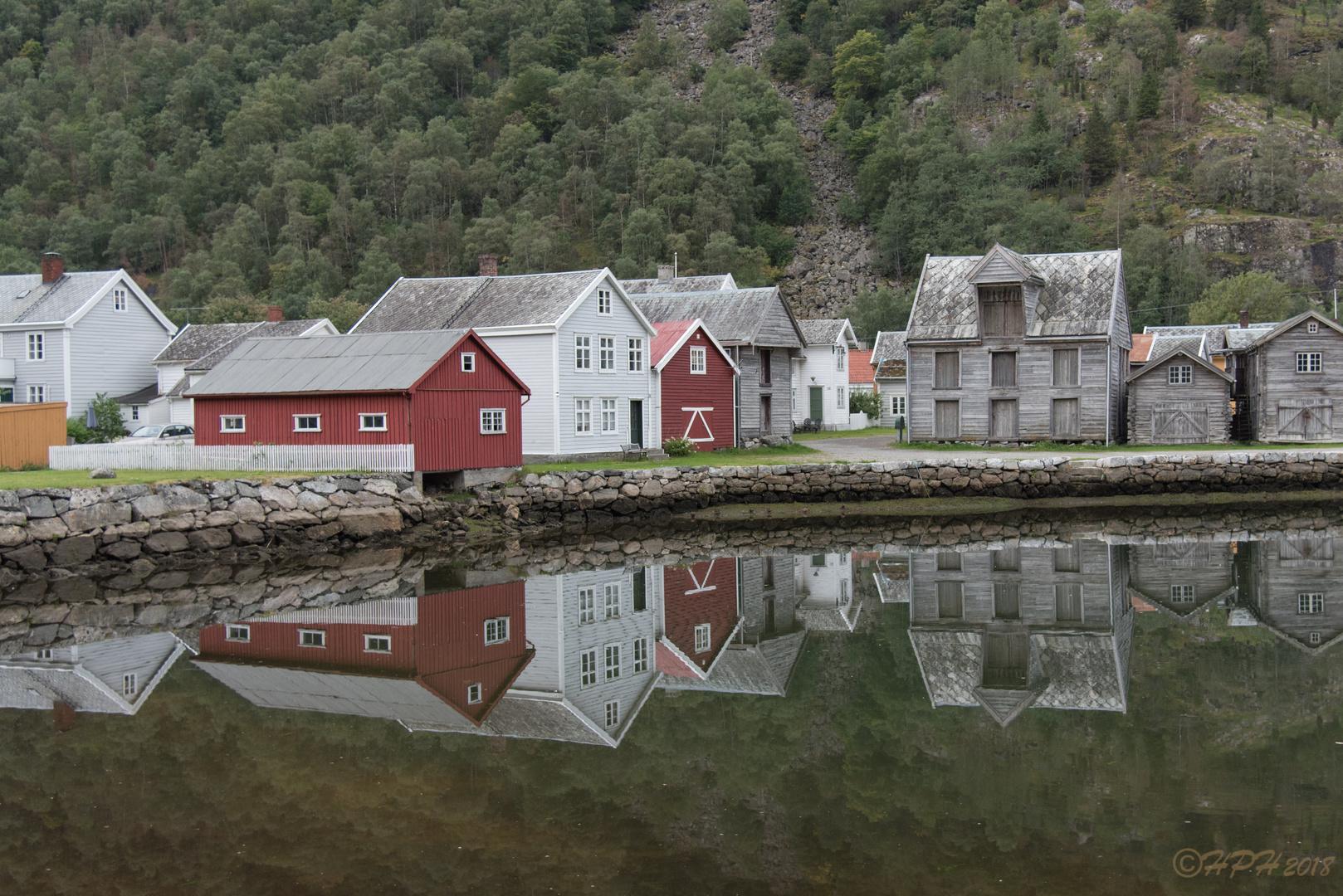 nicht irgendwo in Norwegen - in Lærdal