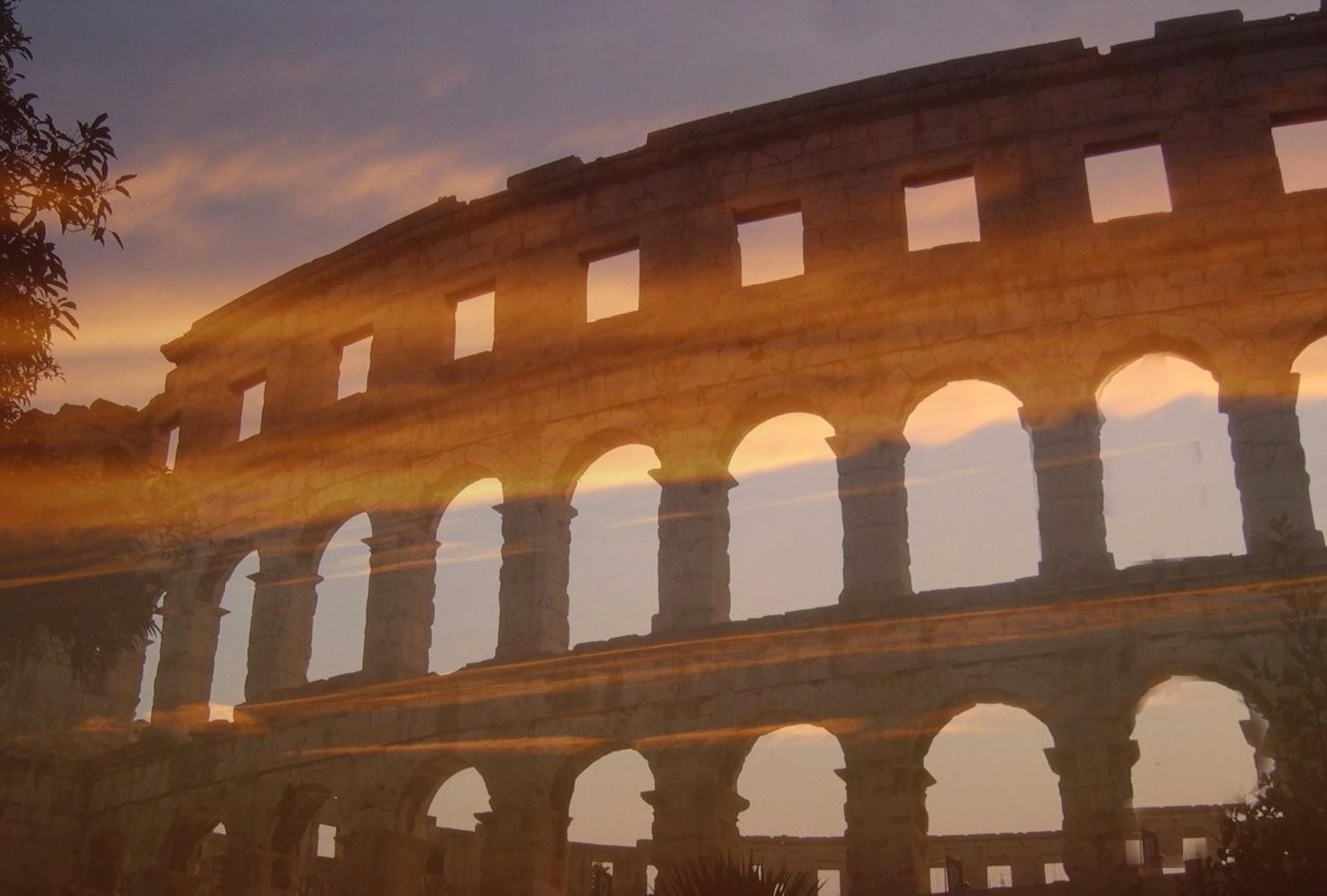 nicht Rom sondern Pula