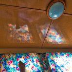 nichts besonderes aber so beim Aufwachen in einem Mobilhome auf Usedom sah ich die Spiegelung