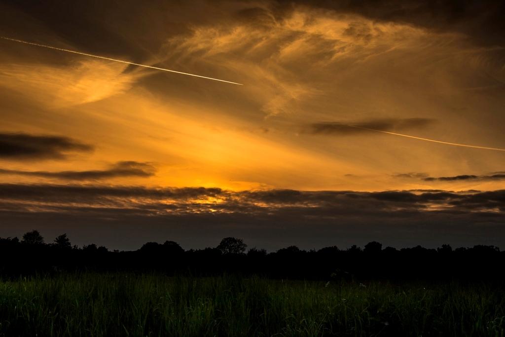 Nichts weiter - nur ein Sonnenuntergang 05.05.2014