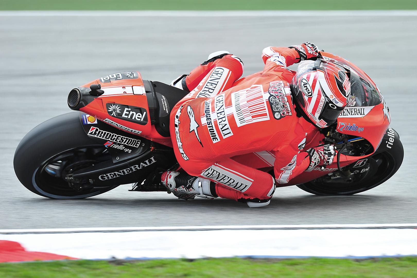 Nicky Hayden startet von Platz 2 in Malaysia