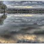 Nidderhochwasser bei Altenstadt