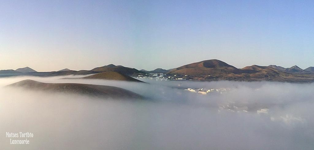 Niebla en Mancha Blanca, TInajo.