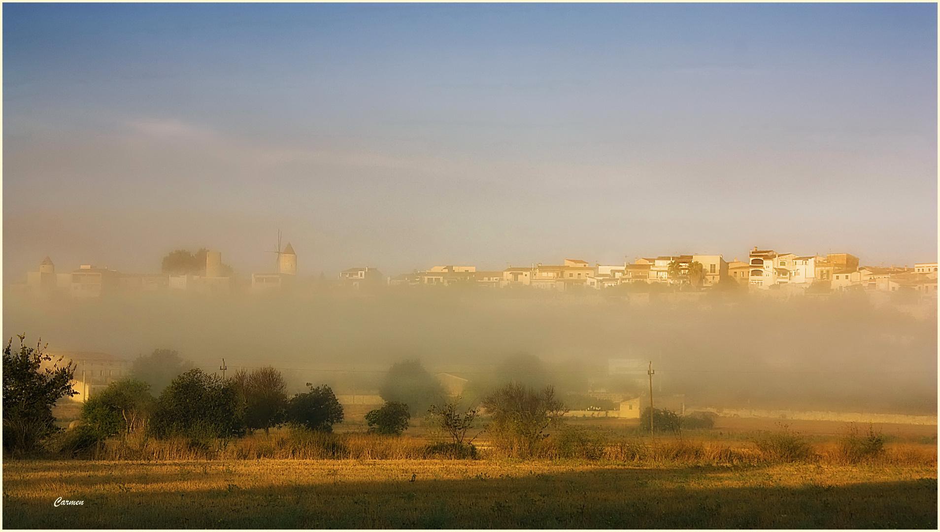 Nieblas de Montuïri (Para Iria Alonso)