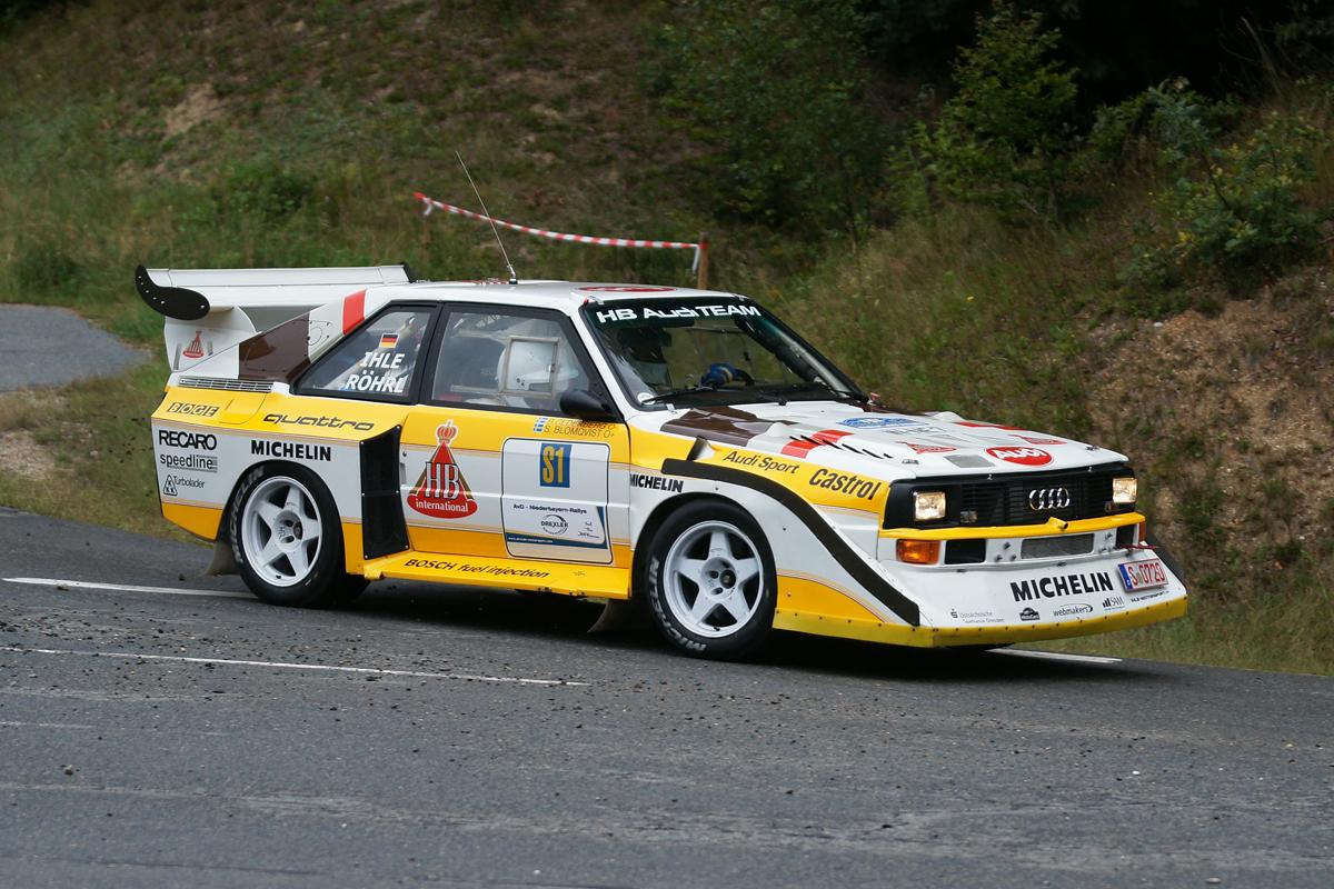 Niederbayern-Rallye 2011 Walter Röhrl S1
