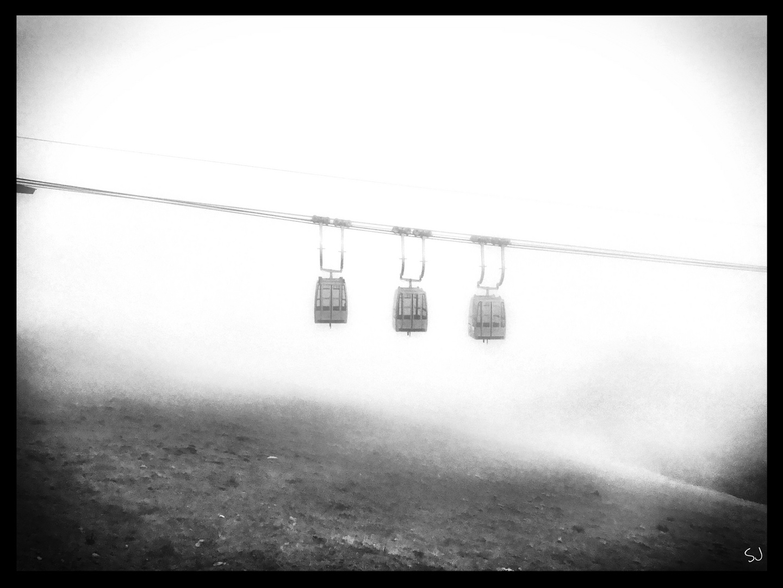 Niederhorn im Nebel
