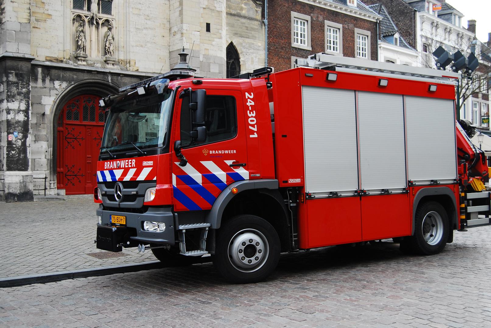 Niederländisches Feuerwehrauto