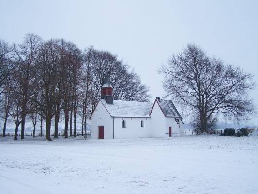 Niederrhein im Schneekleid