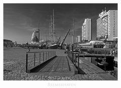 """Niedersächsische - Impressionen """" Bremerhaven..... Hafenwelten, aus meiner Sicht...."""""""