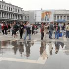 Niederwasser in Venedig