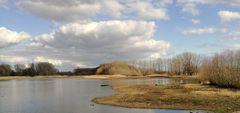 Niedrigwasser - Stausee Friemar