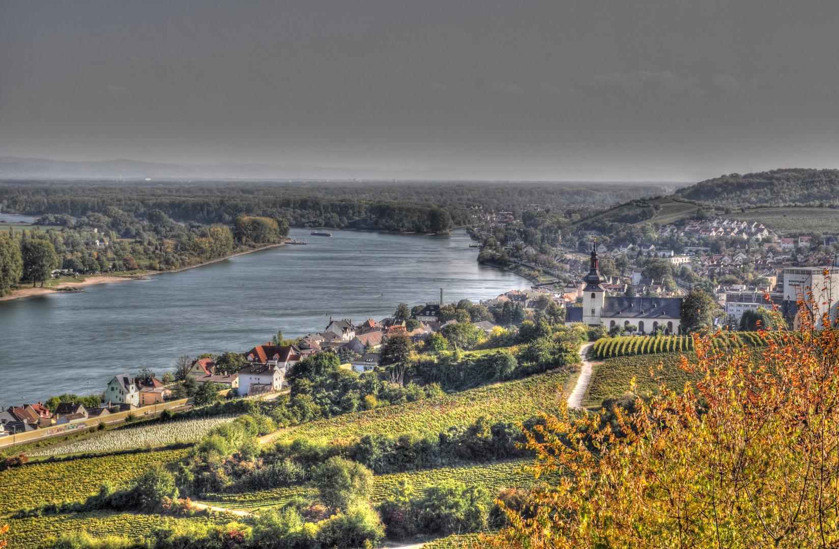 Nierstein am Rhein - HDR