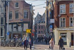 Nieuwerzijdsvoorburgwal in Amsterdam...