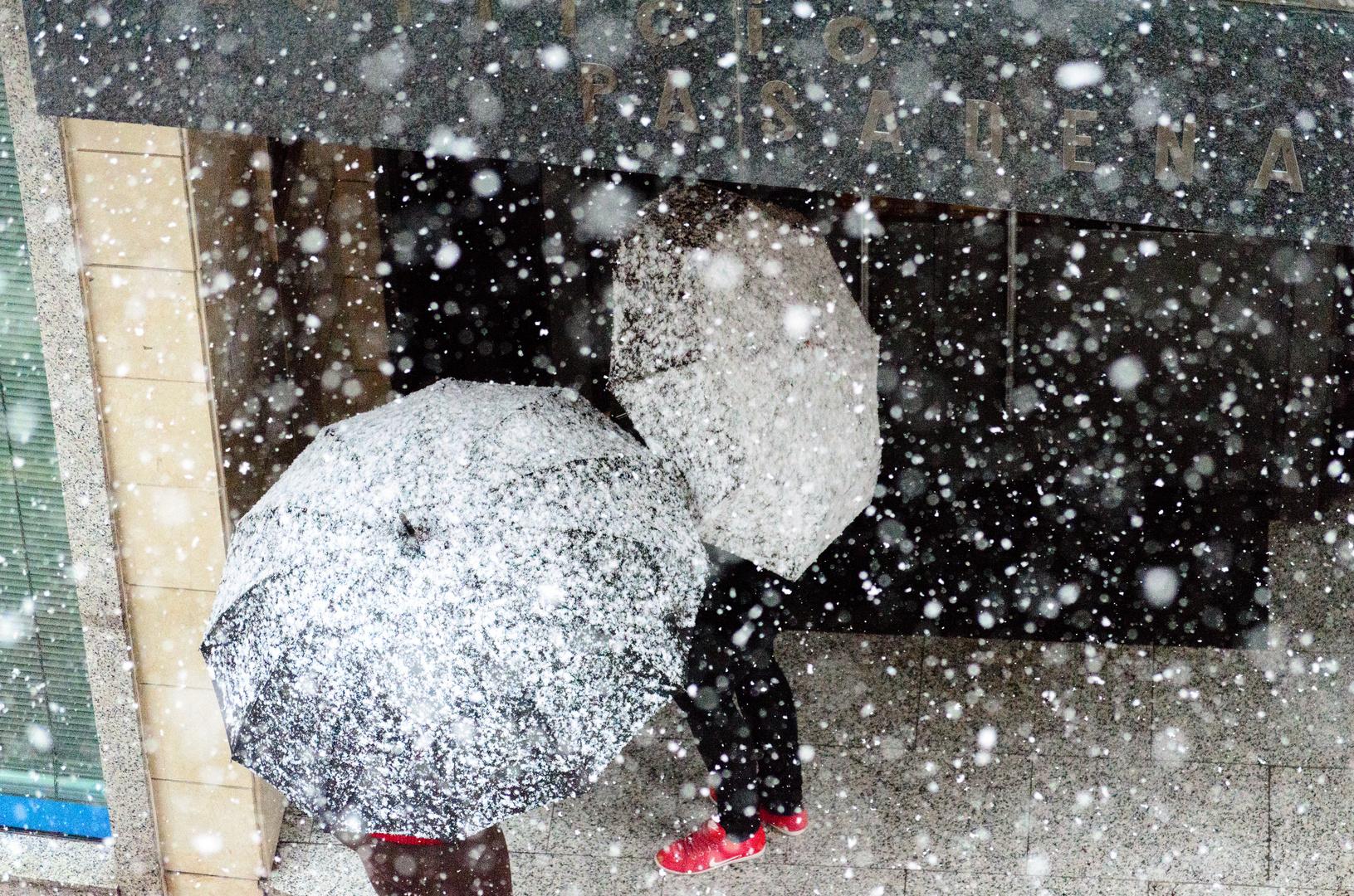 Nieve en el Paragua