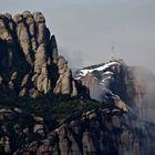 Nieve en Montserrat