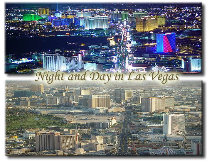 Night and Day in Las Vegas