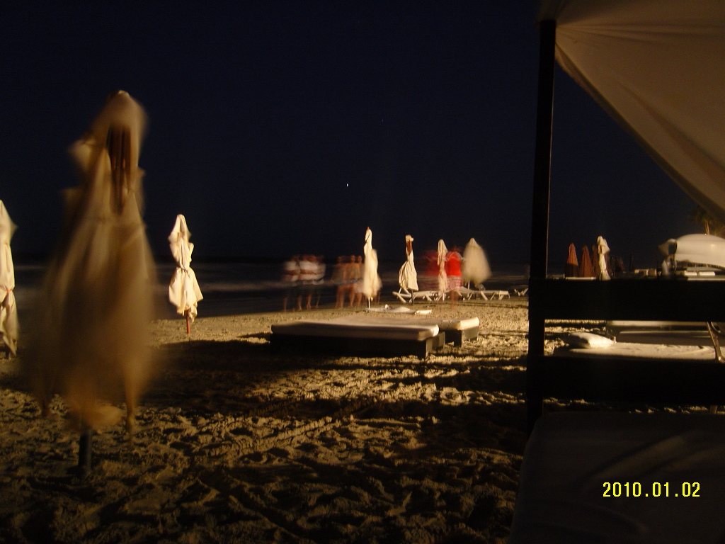 Night at Playa el Agua