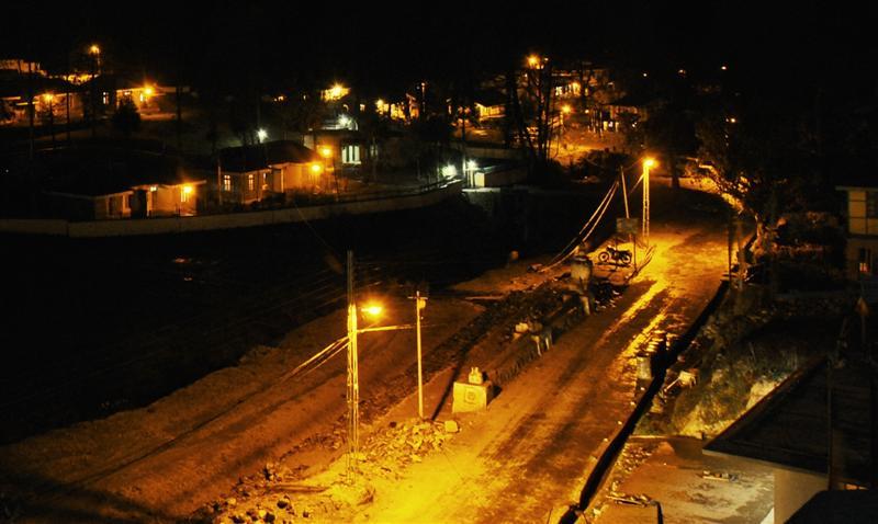 Night at Uttarey, West Sikkim
