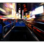 Night Bus on Time Square