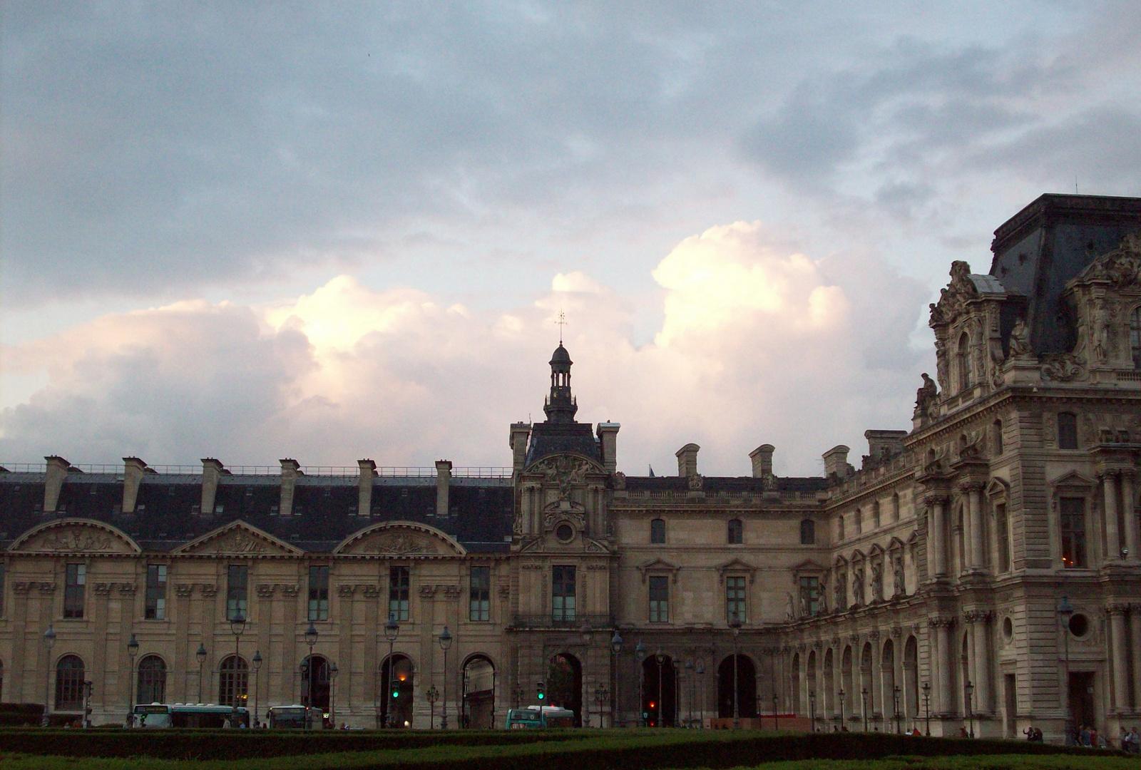 Night Falls in Paris