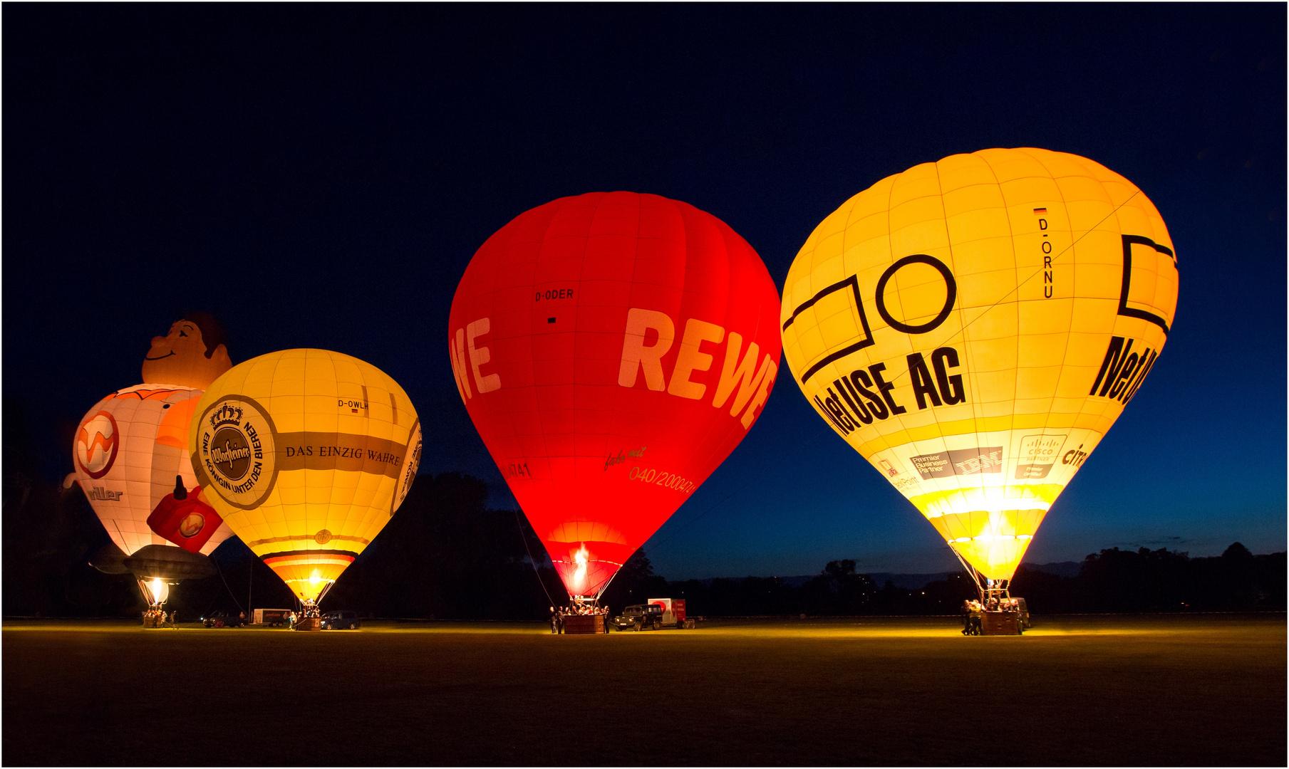 Night Glow auf der Kieler Woche