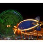 Night in Amusement park