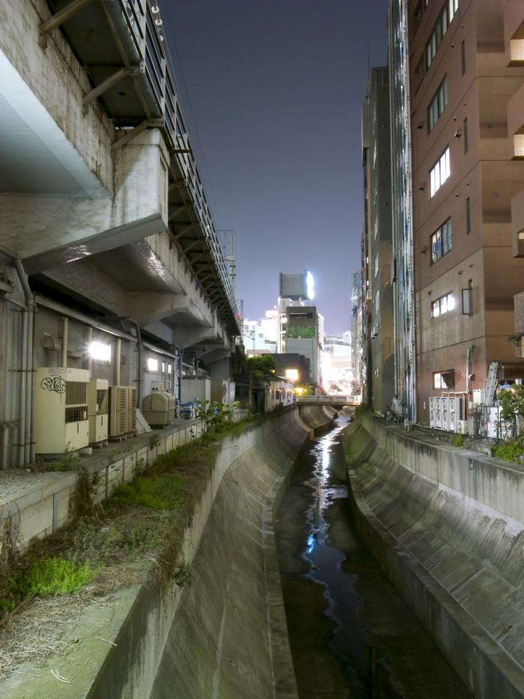Night in Shibuya river, Part 2.