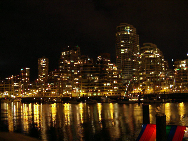 Night in Vancouver