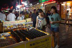 *night market*