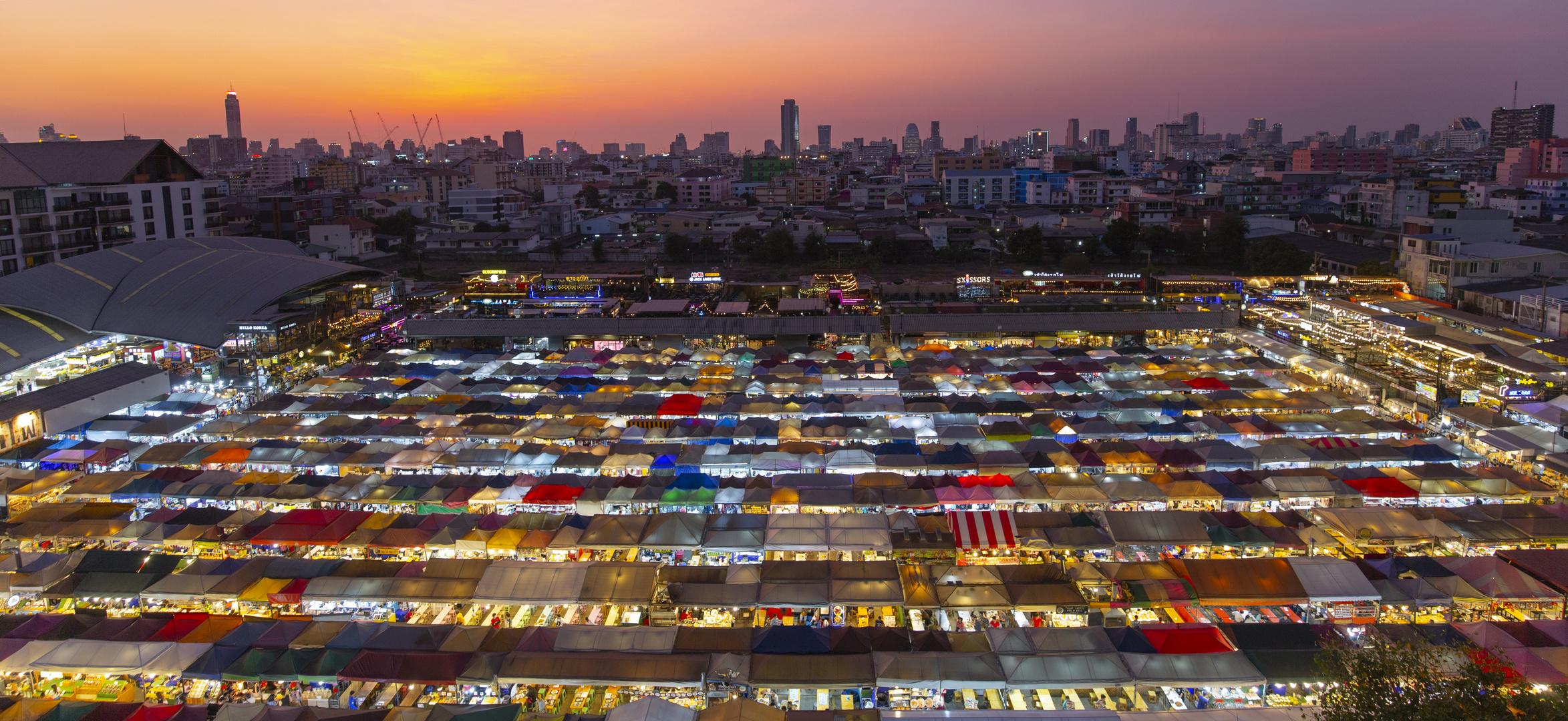Night Market in Bangkok