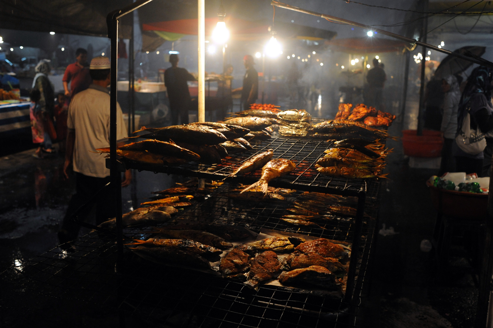 Night Market in Brunei